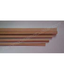 Listón de pino 2x2x1000mm