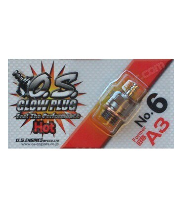 Bujía O.S. Nº6 (Former A3) Hot