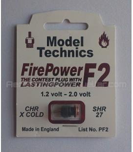 Bujía Glow F2 Extra-Fría Model Technics