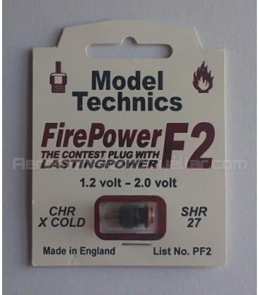 Bujía glow Model Technics F2 extra-fría