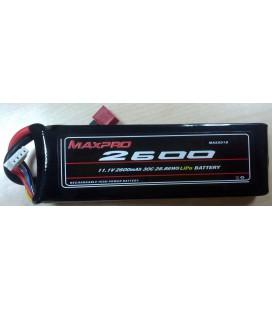 Batería Li-Po 11,1V 2600mAh 30C 3S