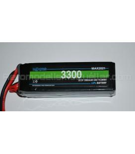 Batería Li-Po 22,2V 3300mAh 30C 6S