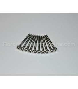 Tornillo allen de acero inoxidable M2x20mm (10uds)