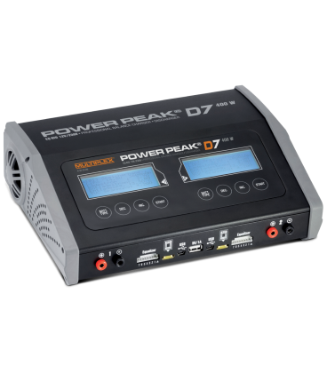 Cargador Multiplex Power Peak D7 EQ-BID Duo