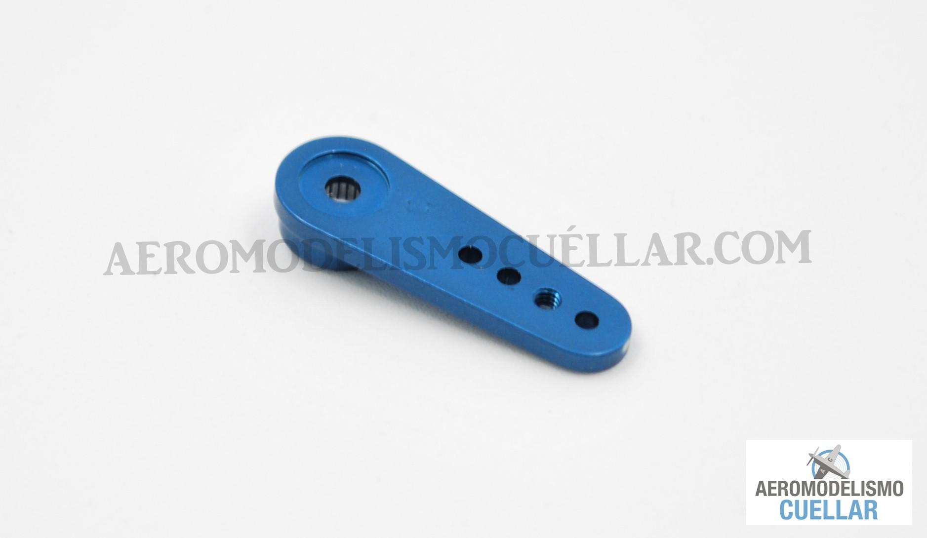 Azul Basage 25T Aluminio RC Servo Cuerno del Brazo para Savox Xcore HL HSP HDHerramientas RC de Potencia