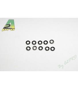 Arandela Plana M4 Acero (10uds)