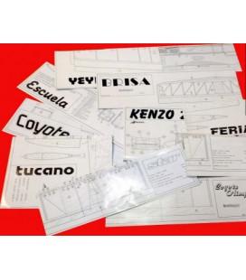 Plano Kenzo 25 1350mm (Sport)
