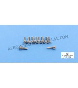 Tornillo Allen M3x10mm Acero Inox.(10uds)