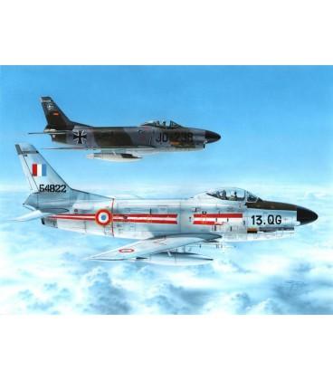 """Special Hobby F-86K """"Armée de l'Air & Bundesluftwaffe"""" 1:48"""