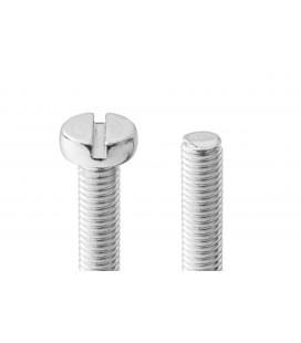 Tornillo acero inoxidable M4x25mm cabeza cilindrica (10uds)
