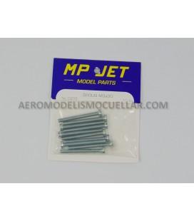 Tornillo M3x30mm Cabeza Cilíndrica Acero (10uds)