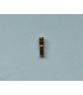 Conector Oro 5mm. Macho