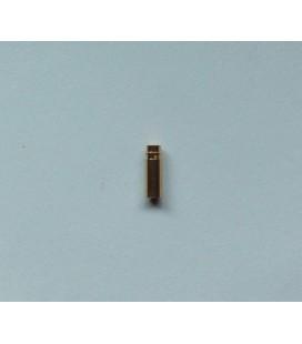 Conector Oro 5mm. Hembra