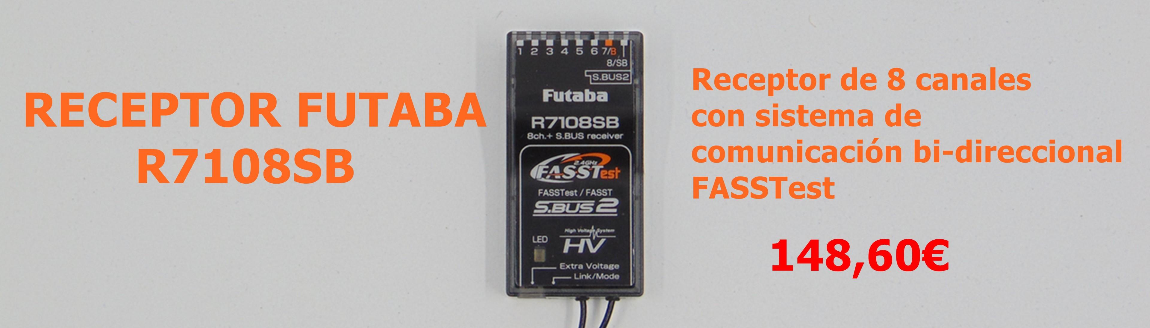 Receptor Futaba R7108SB